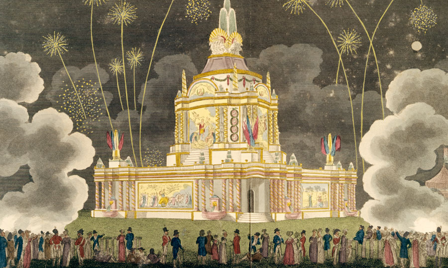 Title:A Perspective View of the Revolving Temple of Concord: 1814.  © R. W. Smart. J. Pain. T. Greenwood. G. Latilla. J Jeakes.