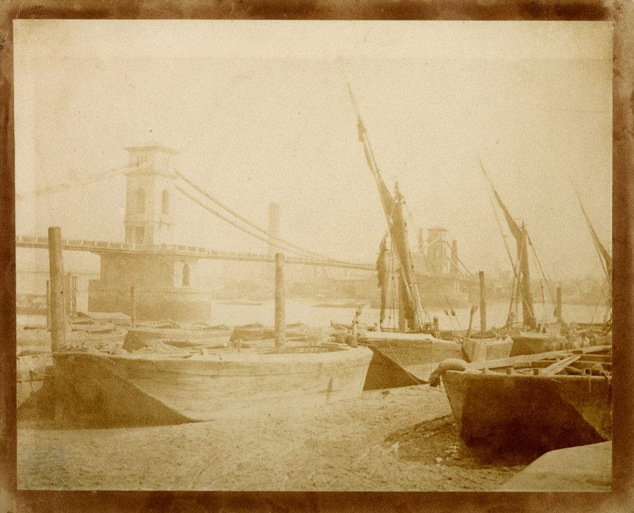 Hungerford Bridge, by William Henry Fox Talbot
