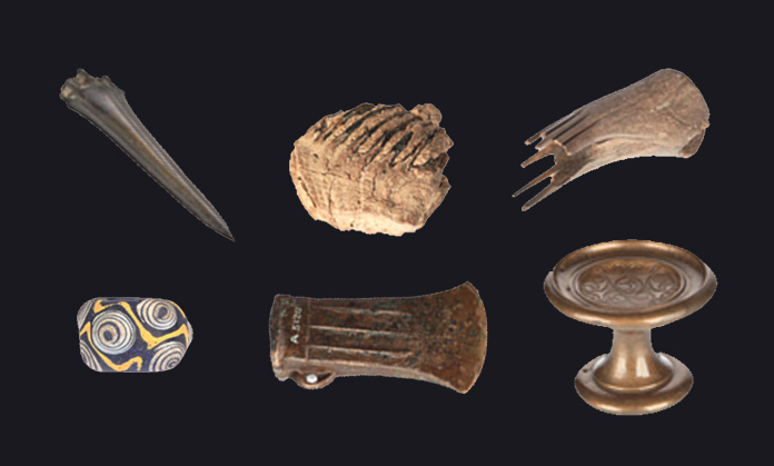 You're in control of these exciting 3D objects! Zoom in, spin them round and figure out just how they were used in prehistory.