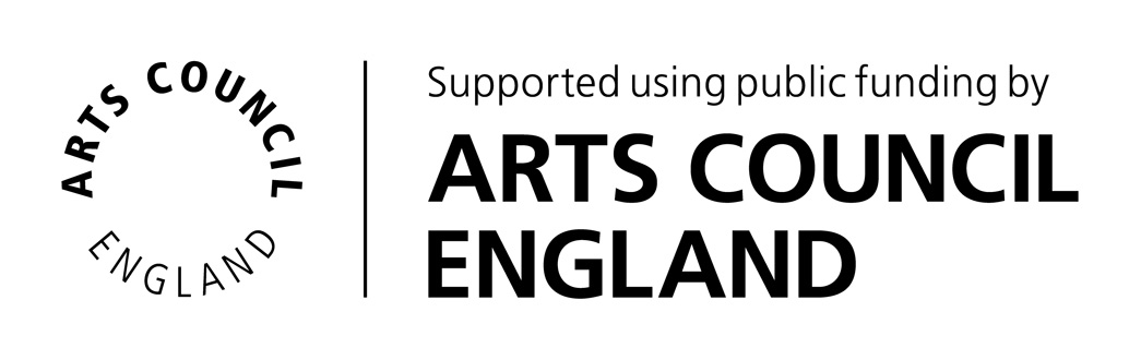 Supported using public funding by Arts Council England.