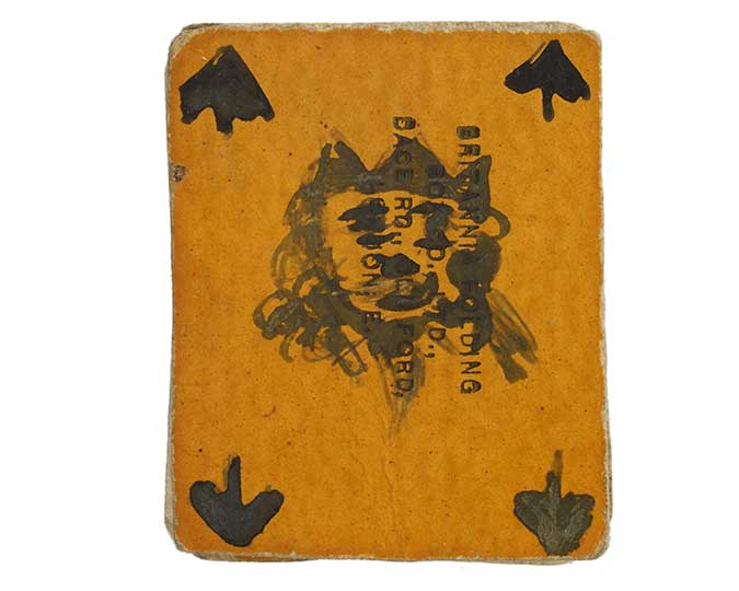 Playing cards made by the suffragette Kitty Marshall - associated image