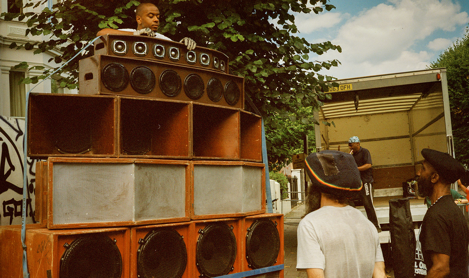 Jah T of Channel One Sound System, Notting Hill Carnival, 2019 (printed 2020) © Eddie Otchere