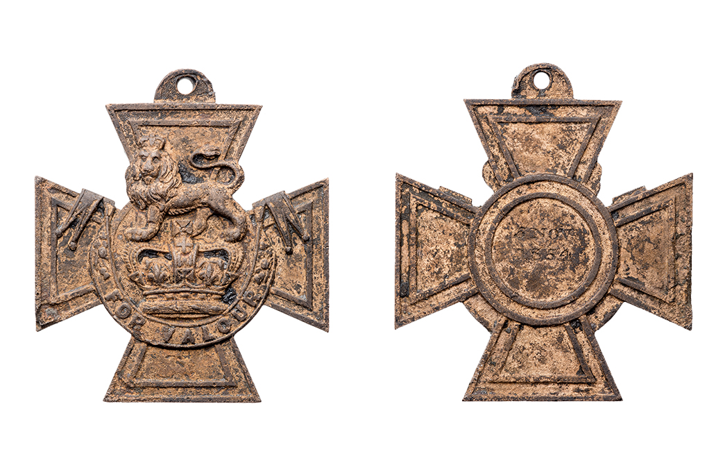 Victoria Cross medal front and reverse