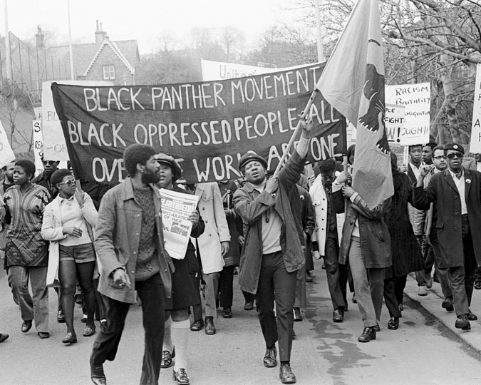 Neil Kenlock, Black Panther Demonstration, London, 1970s
