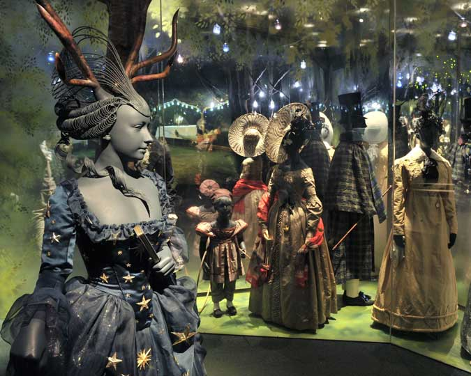 The Pleasure Gardens display at the Museum of London.