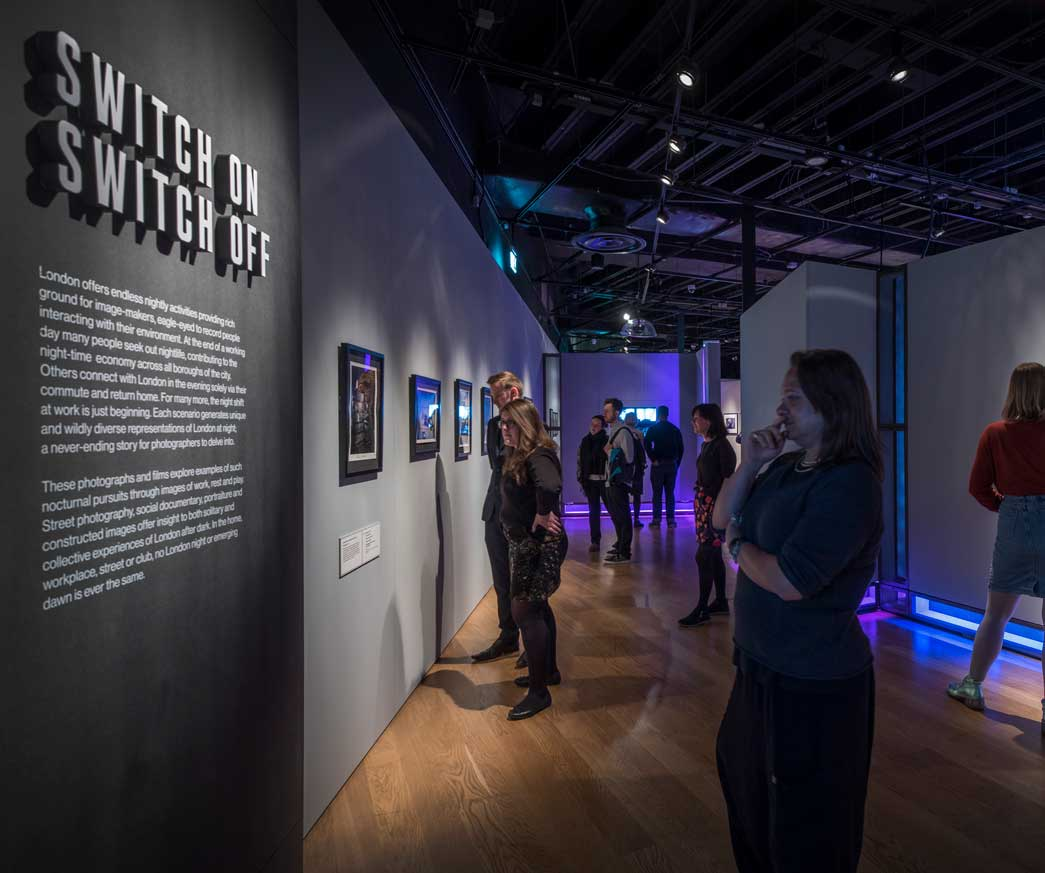 London Nights photography exhibition at the Museum of London.