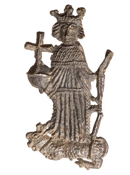 Pilgrim badge depicting Henry VI,ID 85.79/6.