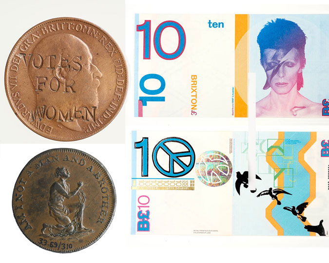 Selection of alternative currencies.