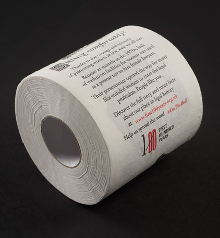 Commemorative toilet paper