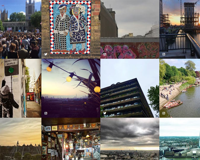 The #LondonView campaign asks Londoners to share their vision of what they hope for the city.