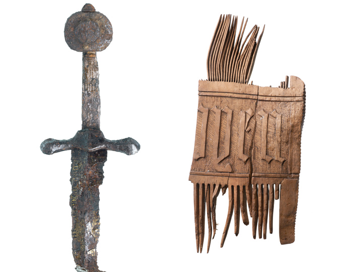See these objects on display in the Revealing the Past display at the Museum of London.