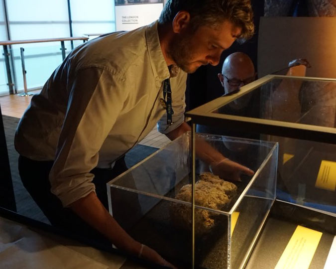 The Fatberg comes off display the Museum of London.