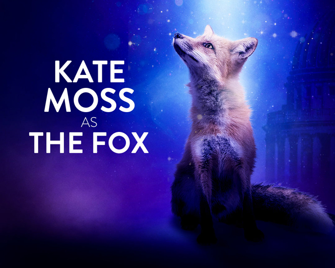 Kate Moss voices the Fox in Beasts of London.