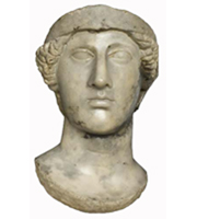 Head of a Roman figure