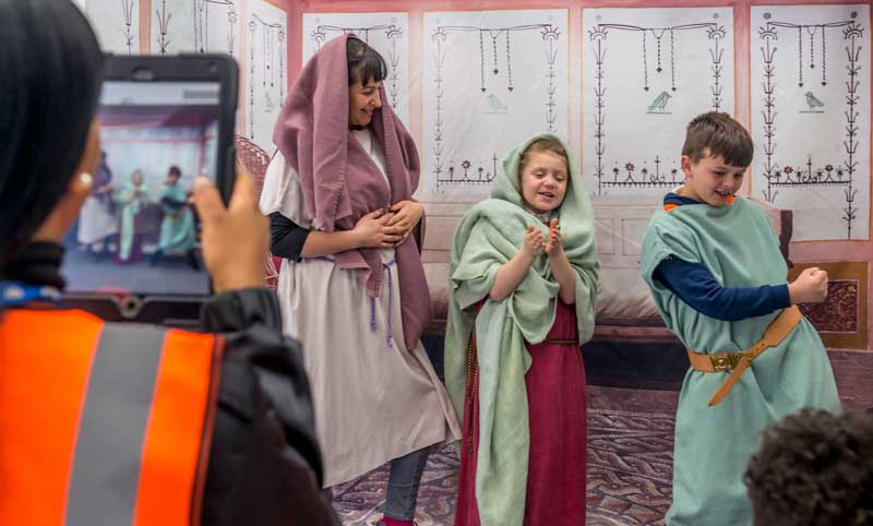 SEND students enjoy our Living Roman London session
