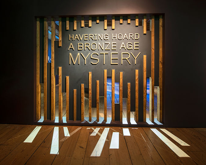 Havering Hoard: A Bronze Age Mystery exhibition entrance associated image