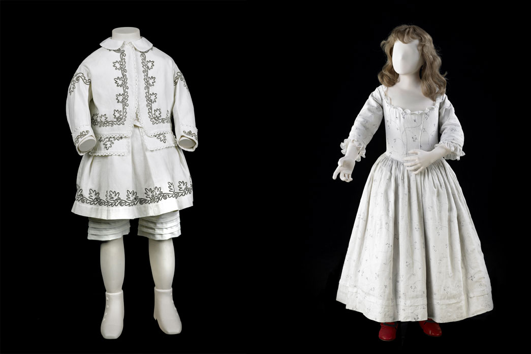 18th century children's costume.