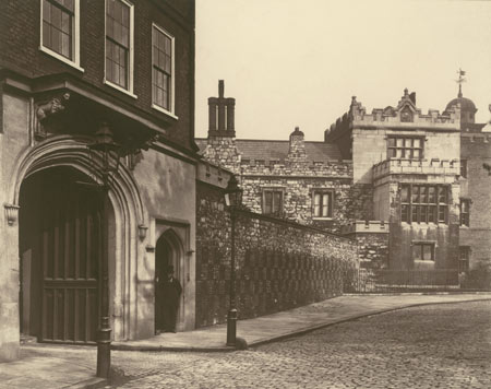 Charterhouse photographed.