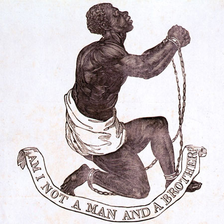 Anti-slavery design by Josiah Wedgwood.