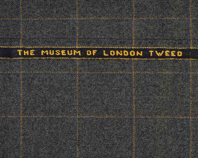 Museum of London tweed sample.