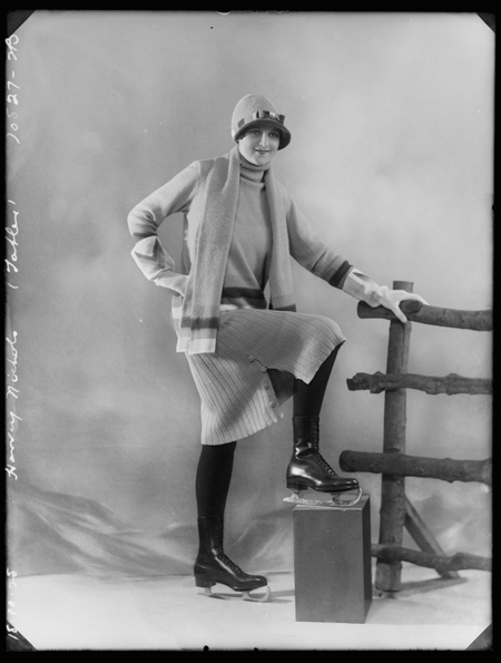 Image of a woman modelling leisure and sport wear for the retailer Harvey Nichols & Co. Ltd. Published in The Tatler.