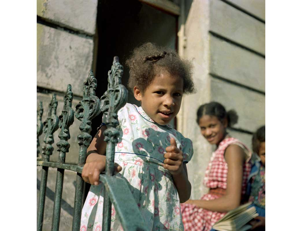 Image from Paul Styles of Afro-Caribbean children in Notting Hill.