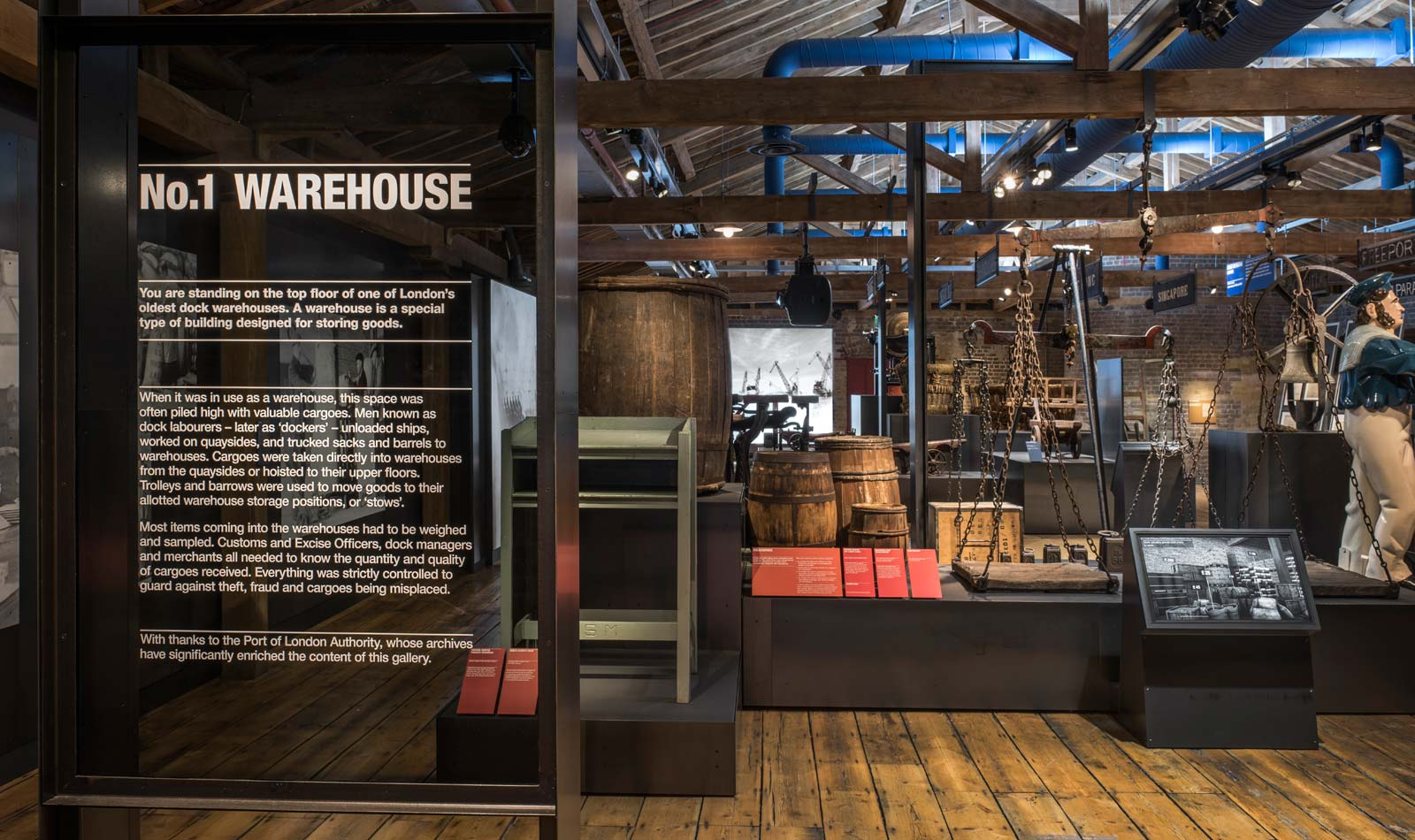 London History No 1 Warehouse At The Museum Of London