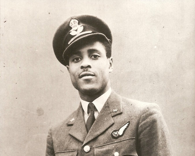 Krio airman Johnny Smythe.
