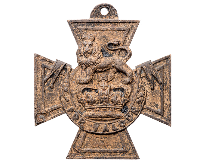 Front of the Victoria Cross
