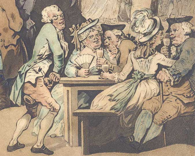 Image of a satirical print.