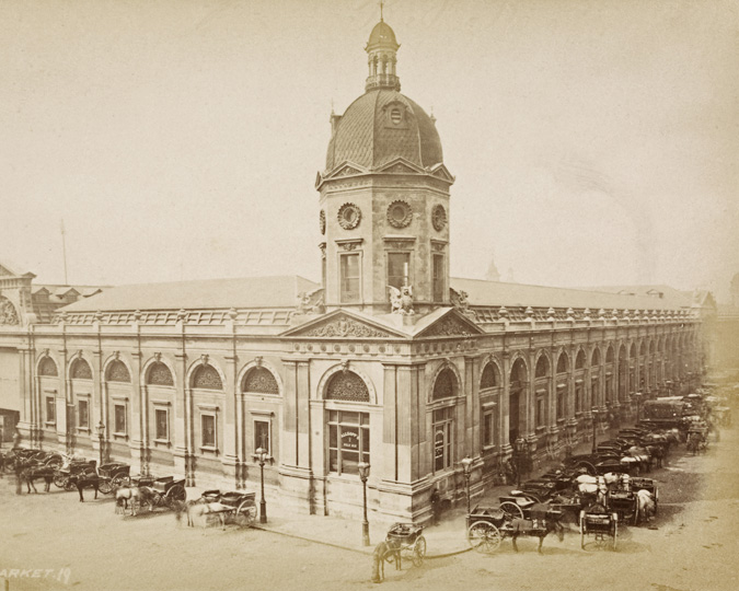 Photograph of Smithfield General Market.