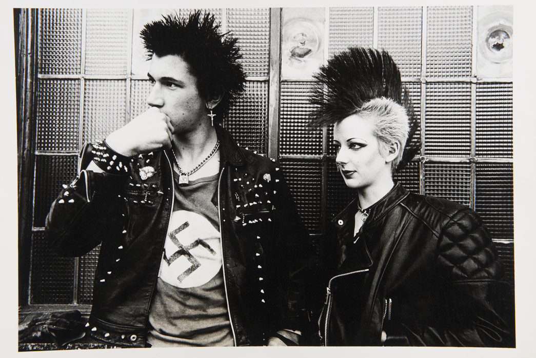 Two punks, 1981, © Dick Scott Stewart Archive/Museum of London