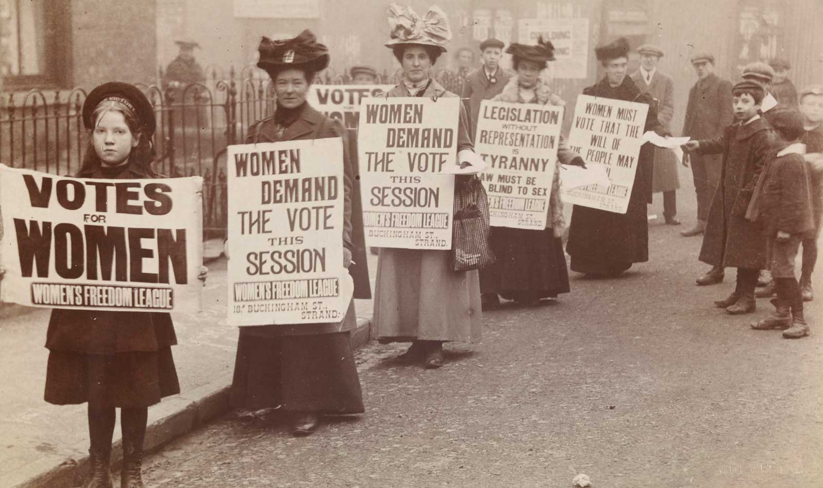 Votes for Women is a year celebrating female suffrage.