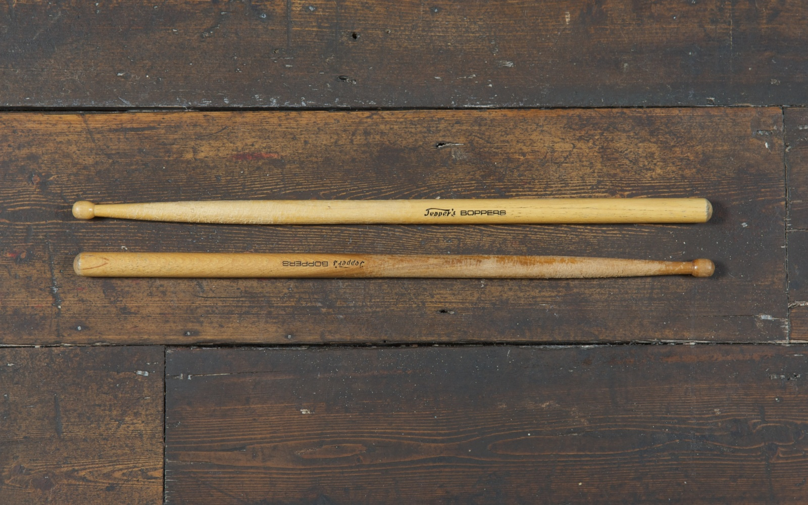 Topper Headon's drum stick (c) The Clash archive Cropped.jpg