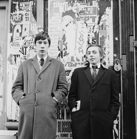 Two young men, Carnaby Street, 1967, Henry Grant Collection/Museum of London