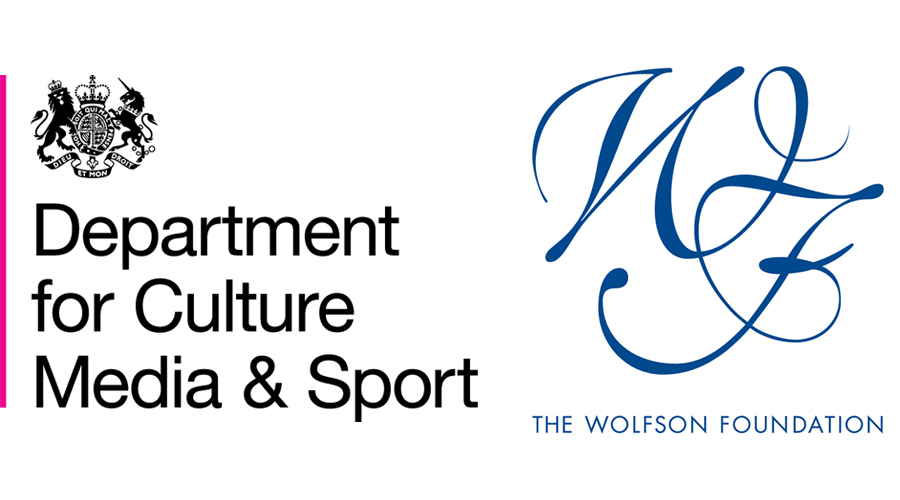Department for Culture Media & Sport; The Wolfson Foundation