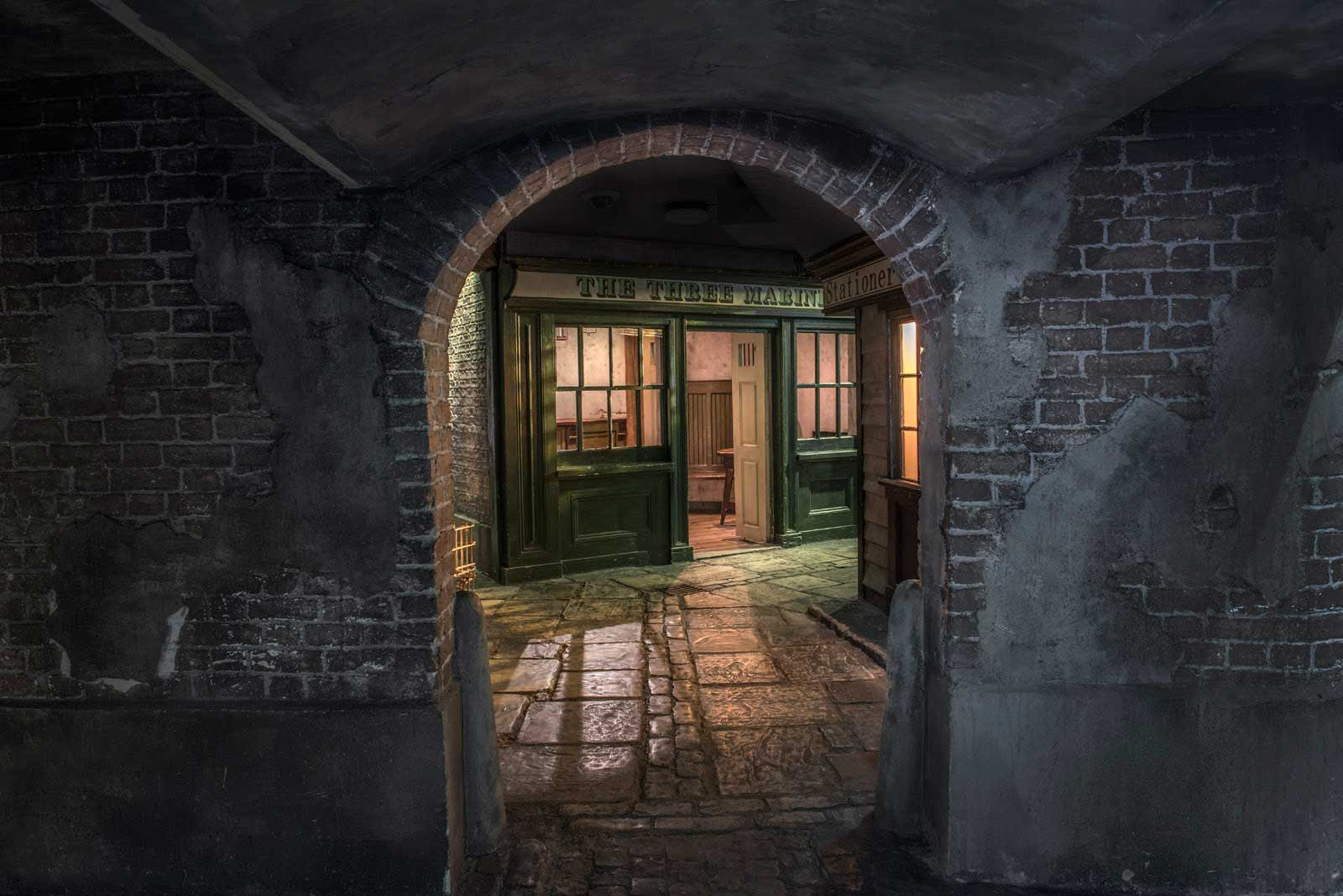 Enter the dark alleyways of the Dockland's Sailortown.
