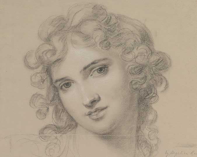 Portrait of Emma Hamilton 1791 © The Metropolitan Museum