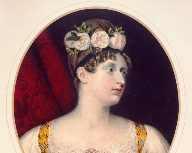 Picture of Princess Charlotte, 1816.