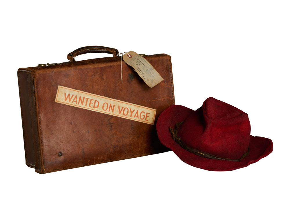 Hat and suitcase of Paddington.