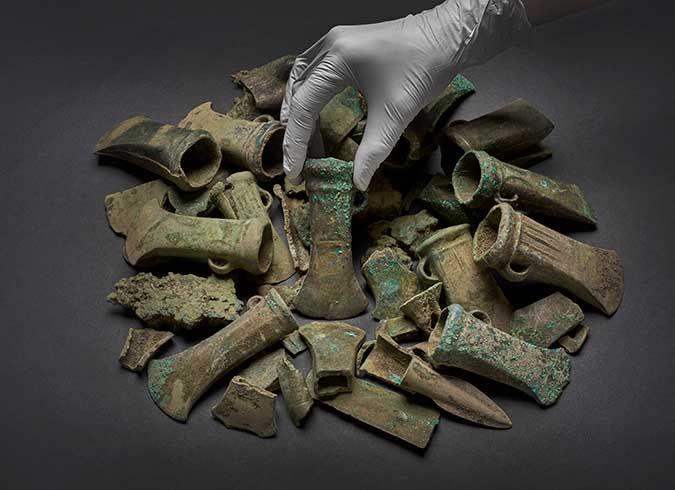 Havering Hoard selection of objects associated image
