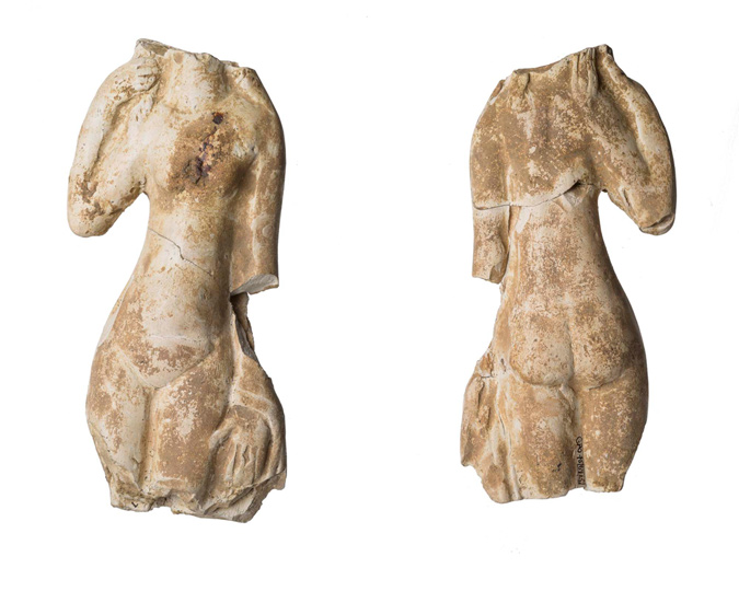 A figurine of the Roman goddess Venus.