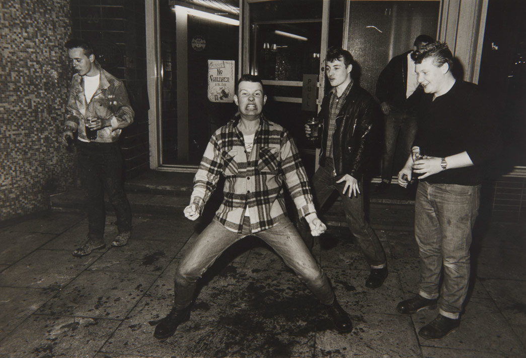 Rockabillies at Elephant and Castle, 1981, © Dick Scott Stewart Archive/Museum of London