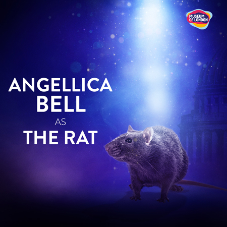 Angelica Bell plays a rat in the Beasts of London experience.