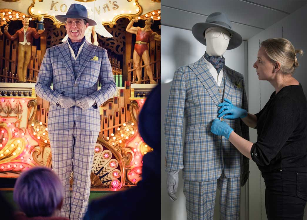 Paddington 2 film costumes and sketches at the Museum of London.