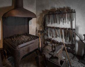 Recreation of a blacksmith