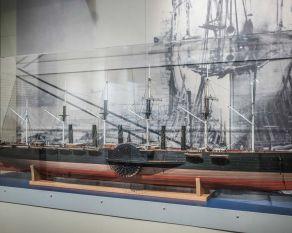 Model of SS Great Eastern.