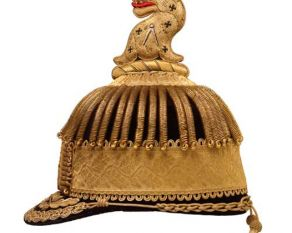 Ceremonial hat decorated with dragon from the City of London