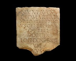 This inscription is the first written record to use the word 'Londoners'.