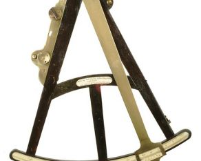 Octant designed by Hayley used for navigation at sea.